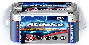 8-Pk. ACDelco Super Alkaline D Batteries