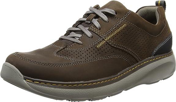 TALLA 41.5 EU. Clarks Charton Mix, Zapatos de Cordones Derby para Hombre