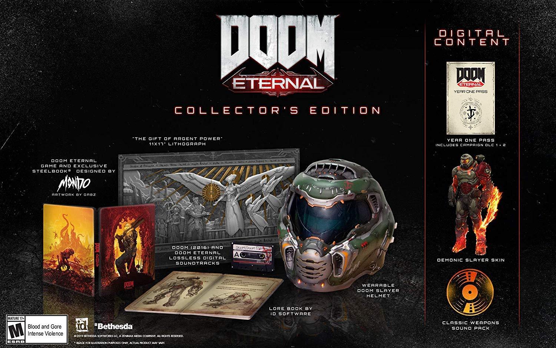 Amazon Com Doom Eternal Collector S Edition Pc Video Games