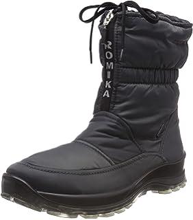 Alaska 122 - Botas de Nieve de Material sintético Mujer, Color Negro, Talla 37 Romika