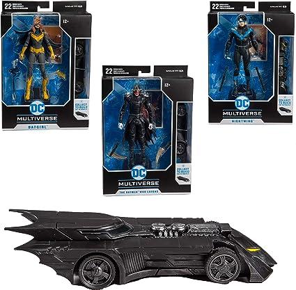 DC Multiverse Collector Wave 1 BATMOBI Batgirl: Art of Crime McFarlane Toys