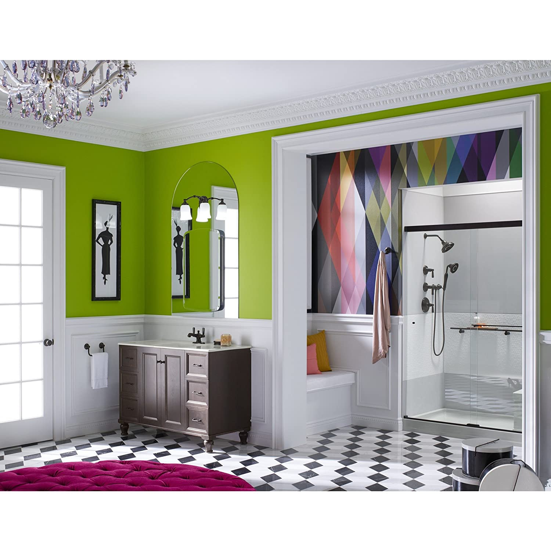 Kohler K1057942BZ Bancroft Monoblock Single-Hole Bathroom Sink ...