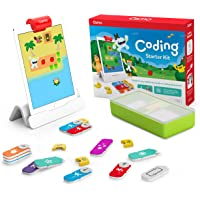 Osmo 901-00021 - Coding Starter Kit for iPad - 3 Hands-on Learning Games - Ages 5-10+ - Learn to Code, Coding Basics…