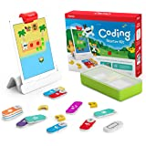 Osmo - Coding Starter Kit for iPad - 3 Educational Learning Games - Ages 5-10+ - Learn to Code, Coding Basics & Coding Puzzle