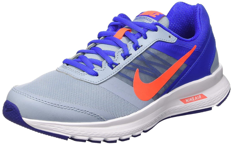 Nike Air Relentless 5, Zapatillas de Running para Hombre 42 EU Gris / Naranja / Azul (Bl Gry/Ttl Crmsn-rcr Bl-dp Ryl)