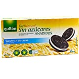 Gullon Diet Nature Sandwich Sugar Free, Stuffed With Cream 210GR (Pack Of 5)