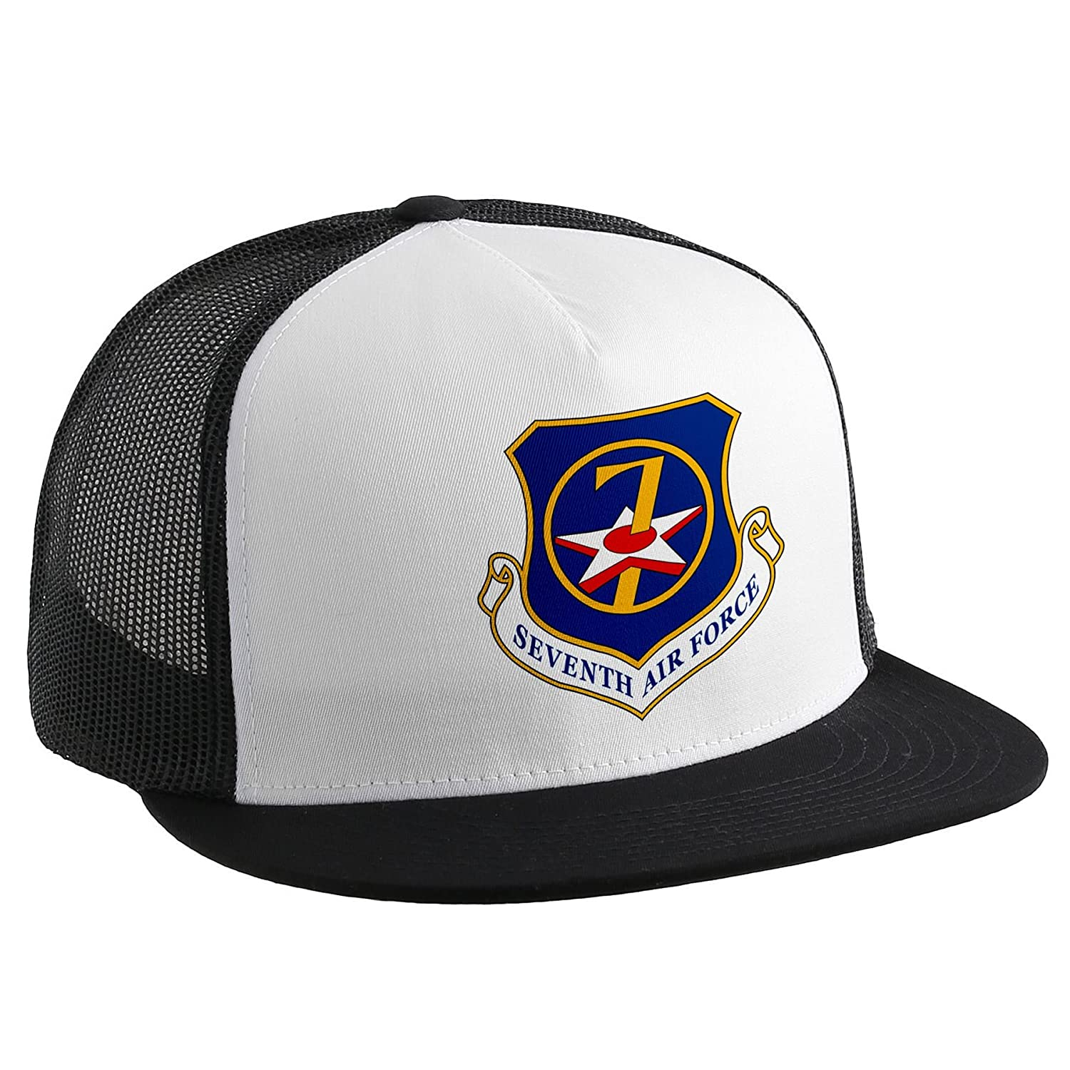 Trucker Hat with u.s. 7th Air Force、エンブレム   B00V1LTEGS