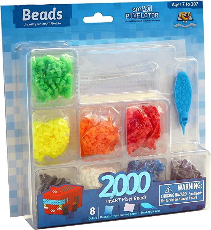 smART Pixelator Large Peg Set 4000 Beads