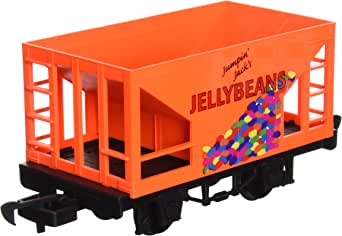 Bachmann Industries Li'l Big Haulers Jumpin' Jack's Jelly Beans G-Scale Hopper Car, Large