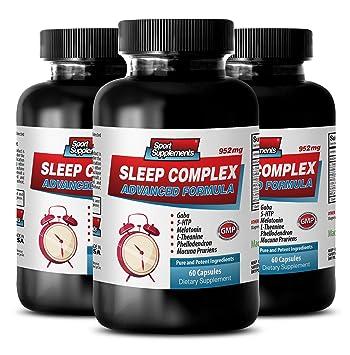 Amazon.com: 5-HTP y triptófano – dormir complejo fórmula ...