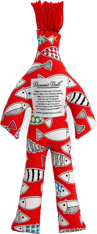 Gag Gift Dammit Doll Lil/' Fishies Stress Doll Stress Relief