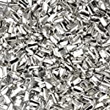 "Silver Solder Chip Ultra Tiny Precut Pieces 0.5mm X 1mm X .25mm (Qty=1500)""Easy"" Density"