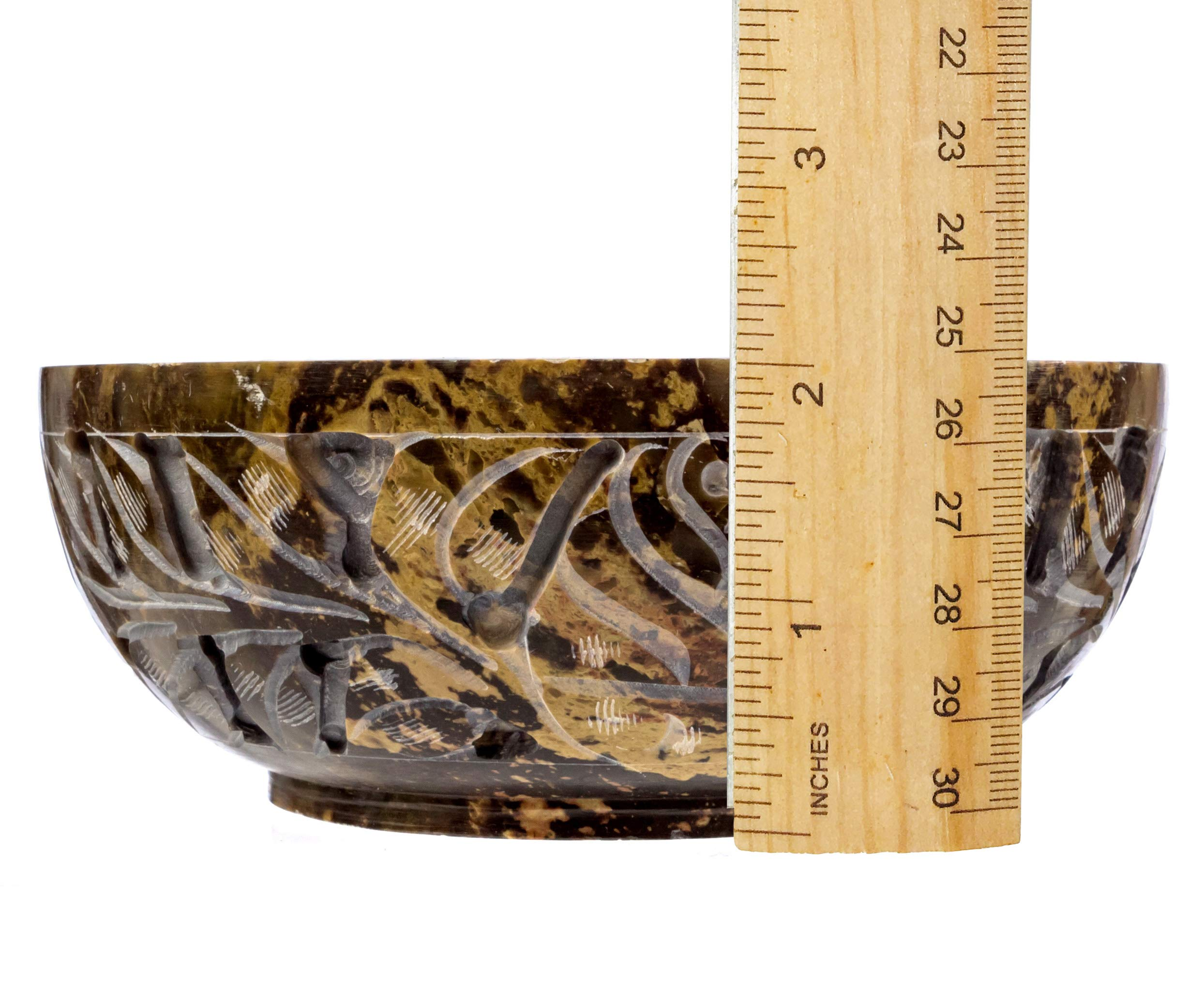 Alternative Imagination Soapstone Smudge Bowl Kit with 1 California White Sage Smudge Stick, 2 Palo Santo Smudge Sticks, and 1/2 lb of White Sand (Deluxe) by Alternative Imagination (Image #8)