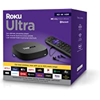 $69 » Roku Ultra 2020 | Streaming Media Player HD/4K/HDR/Dolby Vision with Dolby Atmos,…