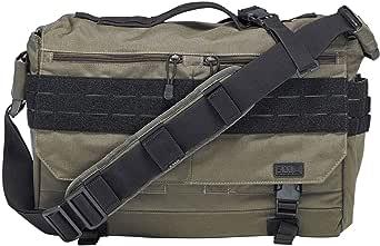 """5.11"" – tactische schoudertas – laptopvak – duurzaam – waterdicht – modulaire opslag – volume 12 l – antislip riem – model Rush Delivery Lima"