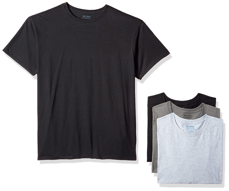 8a983fced9a Gildan Men s Assorted Crew T-Shirt Multipack at Amazon Men s Clothing store