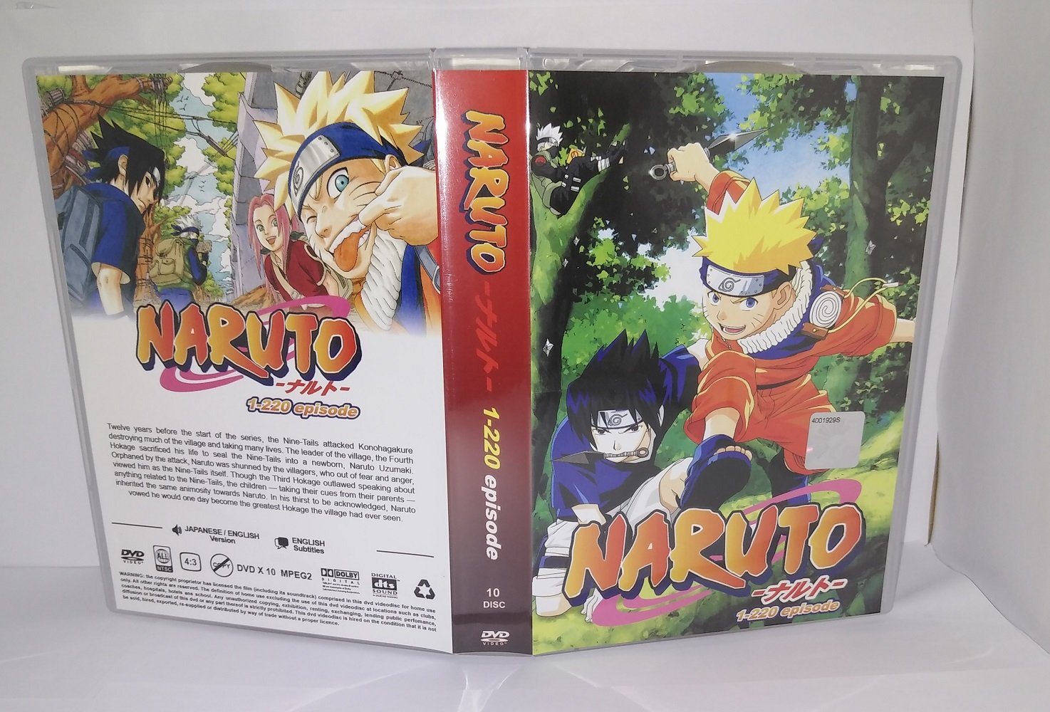Amazon.com: NARUTO - COMPLETE TV SERIES DVD BOX SET (1- 220 ...