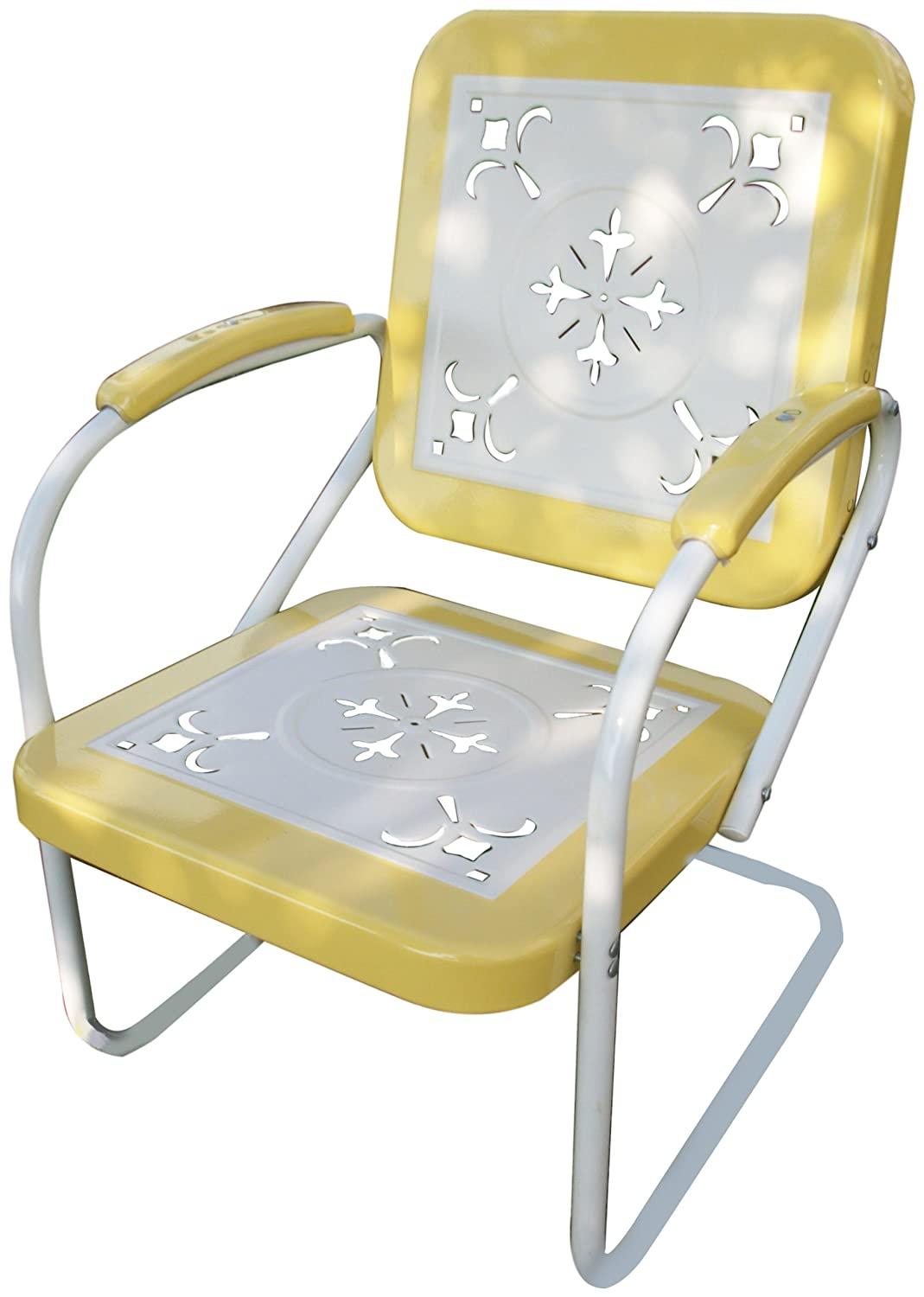 4D Concepts 71140 Metal Retro Chair