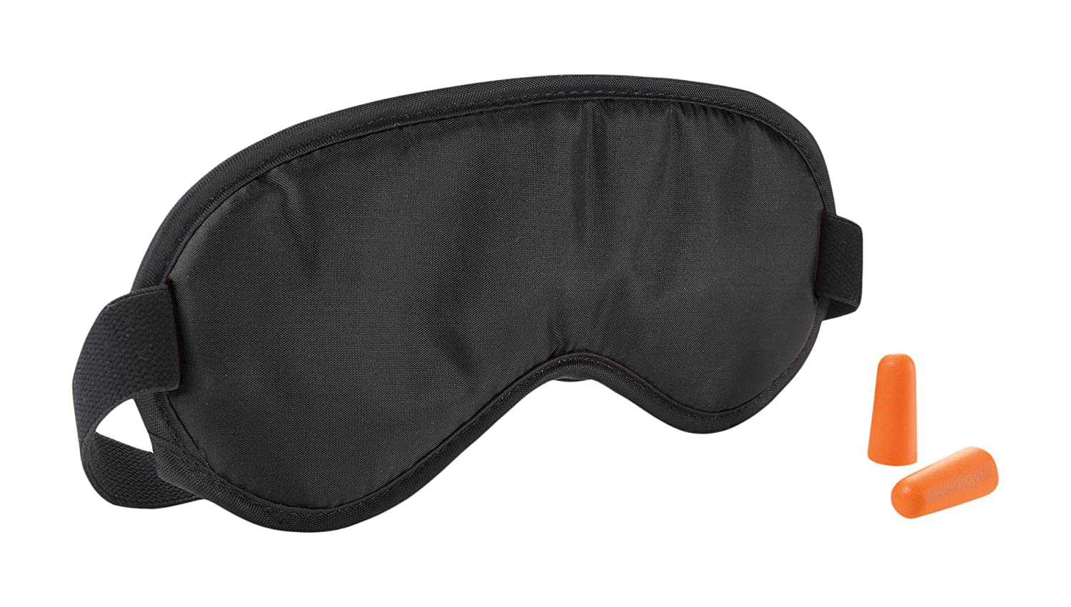 e8a6937ff Amazon.com  Travel Smart by Conair Eye Mask and Earplug Set  Black  Health    Personal Care