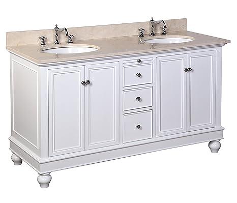 Kitchen Bath Collection KBC222WTMFL Bella Double Sink ...