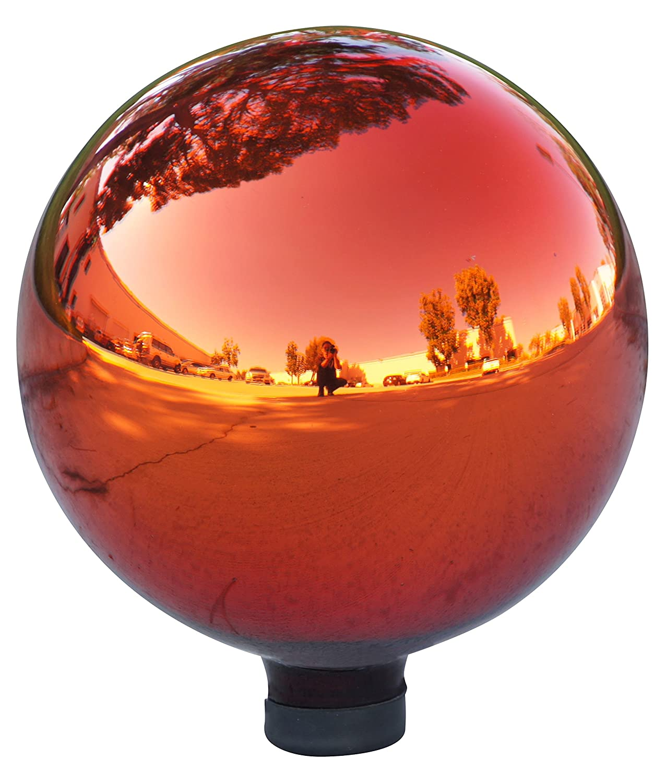 Alpine GLB292RD Electric Glass Gazing Globe, Red