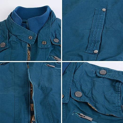 Amazon.com: T904 outerwear Mens Jacket Jackets and Coats Splicing Jacket Chamarras para Hombre: Clothing