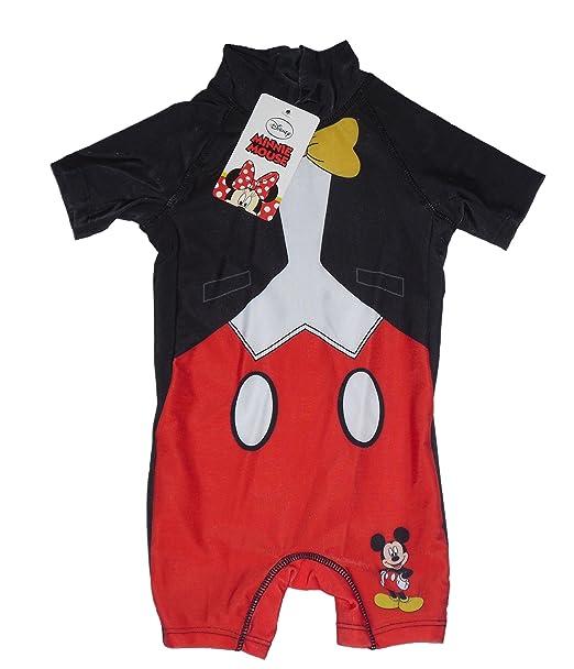 75dc17b0f7ca Traje de baño todo en uno para niños con diseño de Mickey Mouse (1 2 ...