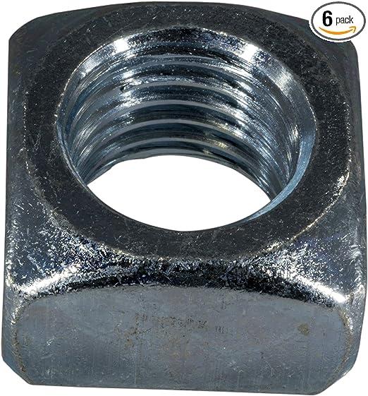 Piece-6 7//8-9 Hard-to-Find Fastener 014973401320 Square Nut
