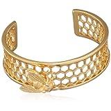 Bill Skinner Women's Gold Plated Bee Cuff