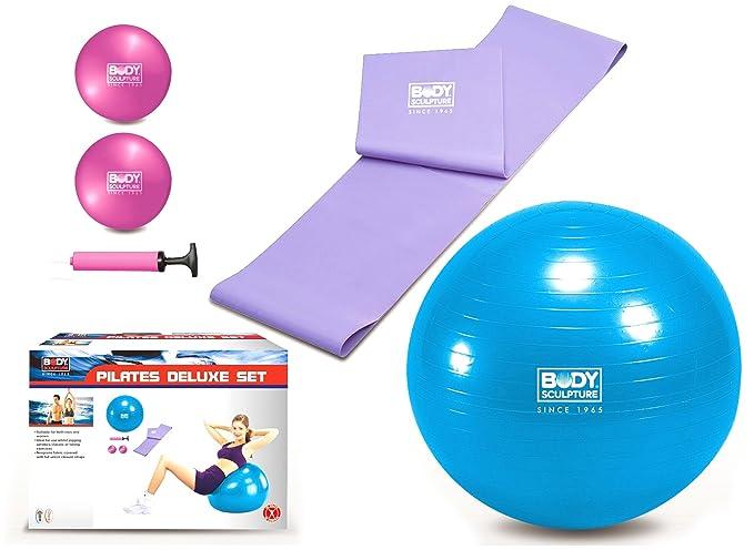 Body Sculpture - Kit de accesorios para pilates  Amazon.es  Deportes y aire  libre 36bad38c73f1
