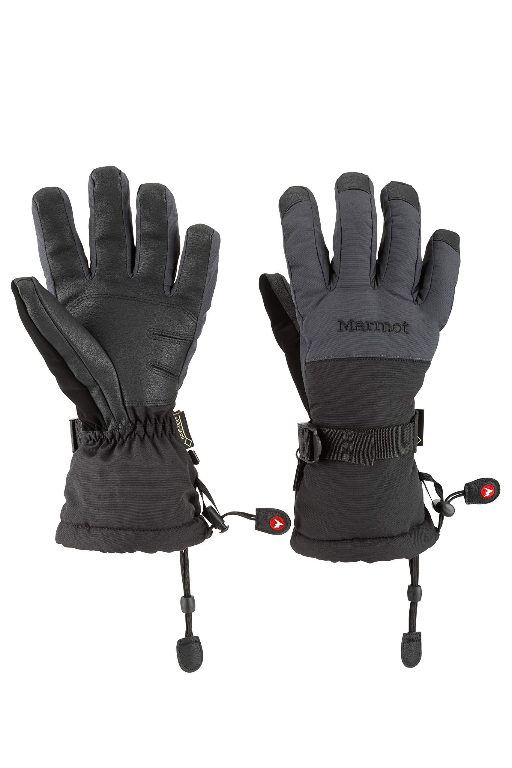 Marmot Men's Granlibakken Glove, Medium, Slate Grey/Black