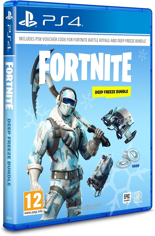 f0e22d27616ce Fortnite  Deep Freeze Bundle (PS4)  Amazon.co.uk  PC   Video Games