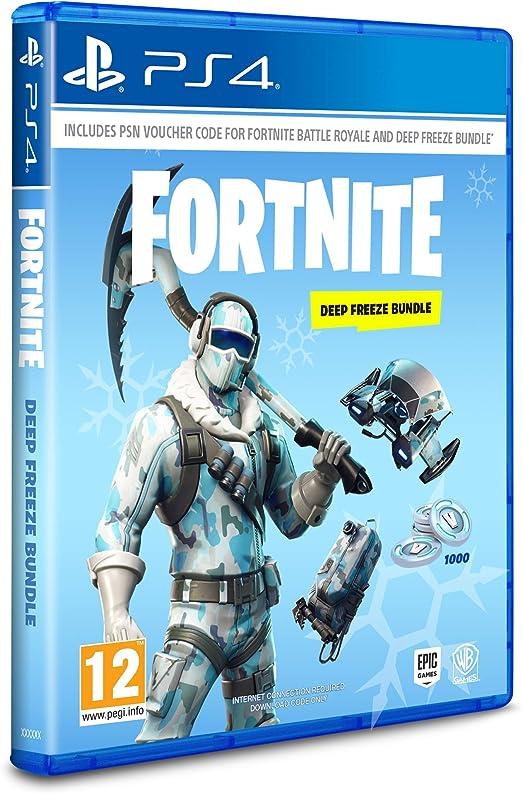 Warner Bros Warner Bros Fortnite: Deep Freeze Bundle PS4 USK: 12 ...
