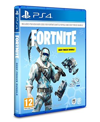 Fortnite Deep Freeze Bundle Playstation 4 Code In The Box