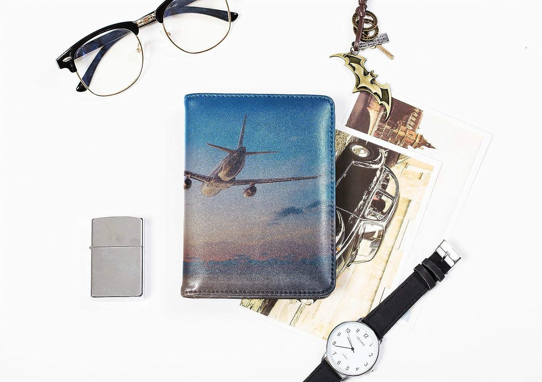 Passport Case For Boys Free Romantic Travel City Scenic View Passport Cover Girl Multi Purpose Print Unique Passport Cover Travel Wallets For Unisex 5.51x4.37 Inch