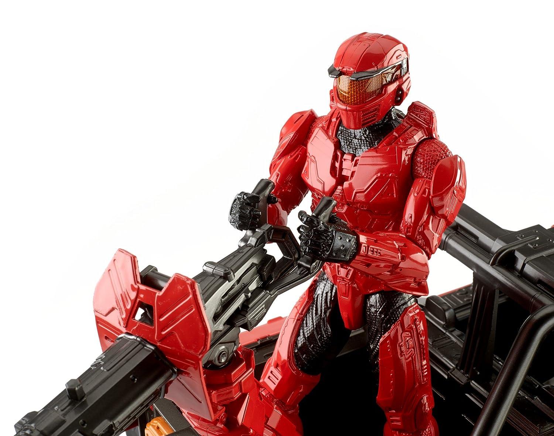 Halo Wars 2 Team Red Warthog /& Spartan Master Chief Mark IV Action Figure 12 12 Mattel FDN93