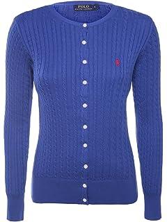 d412982726eb34 Ralph Lauren Sport Damen Pullover aus Rein 100% Merino Wolle: Amazon ...