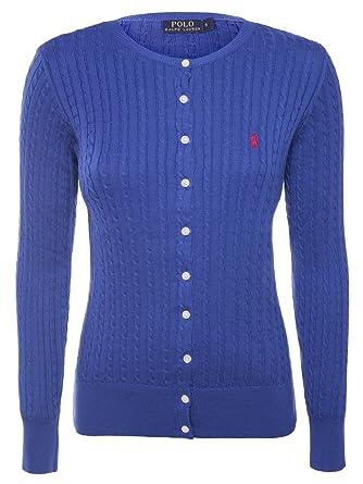 ea43592736df1 Ralph Lauren - Gilet - Femme Bleu Bleu Medium - Bleu - X-Small ...