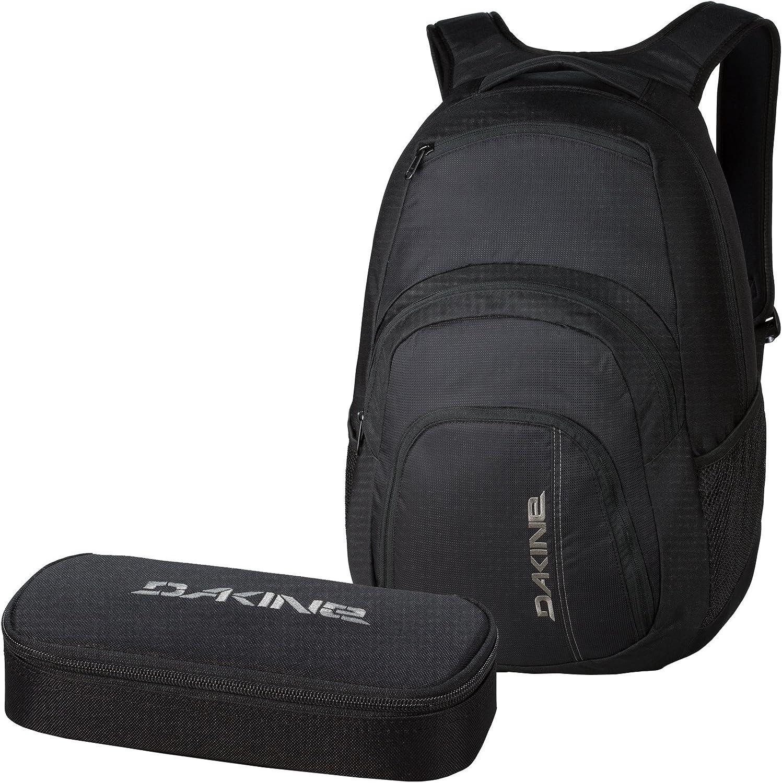 Dakine 2 Unidades Laptop Mochila Campus LG + School Case Estuche Black: Amazon.es: Equipaje