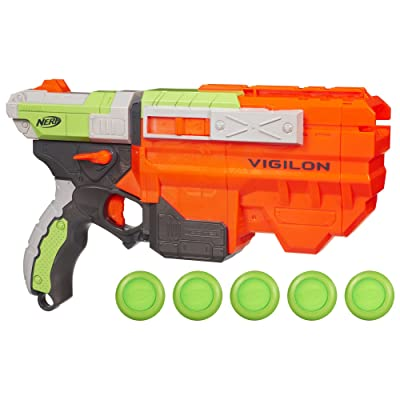 Nerf Vortex Vigilon Blaster: Toys & Games