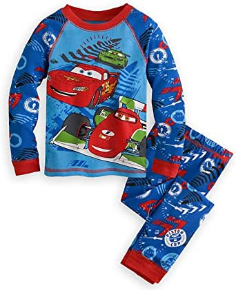 Amazon.com: Disney Store Cars PJ Pajamas Size Extra Small ...
