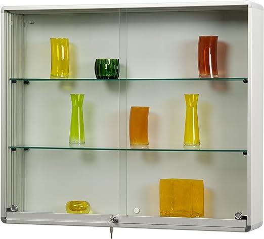Puerta corrediza de vitrina Modelo WR 4 de aluminio plateado: Amazon.es: Juguetes y juegos