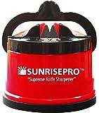 SunrisePro affilare i coltelli , Stati Uniti d'America brevettato , originale , Rosso
