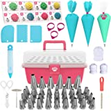 Cake Decorating Kit Cupcake Decorating Kit - 68pcs Cookie Decorating Supplies and Cookie Decorating Kit with Piping Bags and