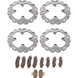 Brake Rotor & Brake Pads fits Yamaha YXZ1000R 2016-2018 Complete Set by Race-Driven