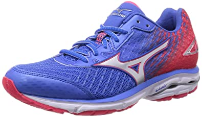 Mizuno 2016 SS Women Wave Rider 19 Fuji Marathon Running Sneaker Shoes J1GD160301 Palace Blue B01816G7LK