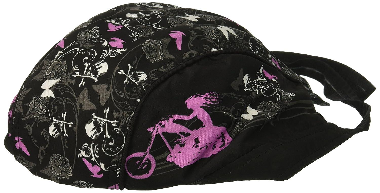 Hot Leathers Skull Made of Skulls Head Wrap Black