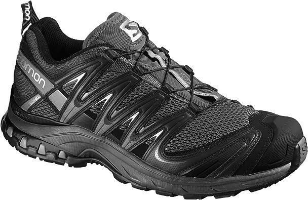 Salomon - Zapatilla de Deporte con Atado rápido Modelo XA Pro 3D GTX® Quicklace - Running/Gym/Trekking (45 EUR) (Negro): Amazon.es: Zapatos y complementos
