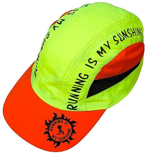 Correr es mi sol sombrero - Gorra de running día de la Carrera ...