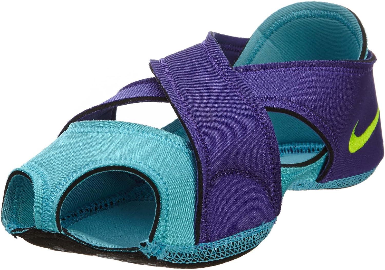 Amazon Com Nike Womens Studio Wrap Ballet Yoga Purple Shoes Home Kitchen